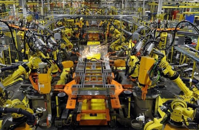 U.S. factory, consumer sentiment data boost economic outlook