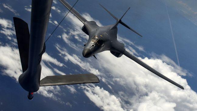 U.S. flies bombers over Korean peninsula after North Korea missile test