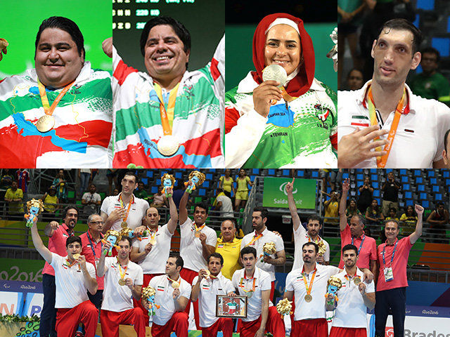Four Iranian Paralympic athletes enter Guinness Book of World Records