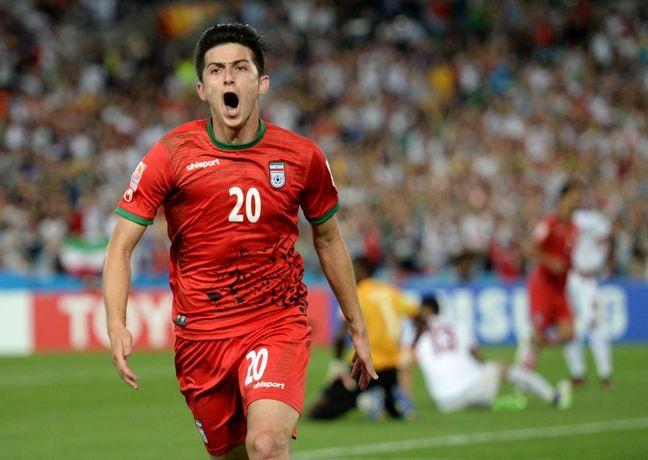 AFC : Iranian striker among 6 Asian stars