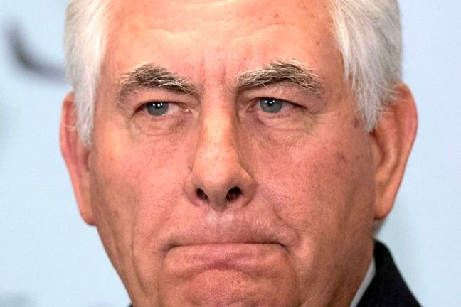 Tillerson Calls on Europe to Back Latest Sanctions on Iran