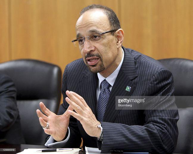 Saudi Oil Minister Al-Falih Sees Output Freeze as 'Positive'