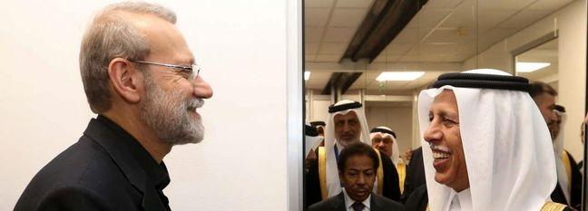 Larijani Meets Counterparts at IPU Event