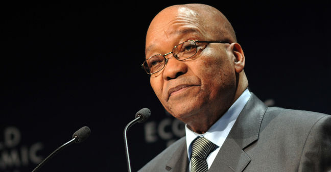 South Africa's Zuma Meets With ANC on His Future, S. Times Says