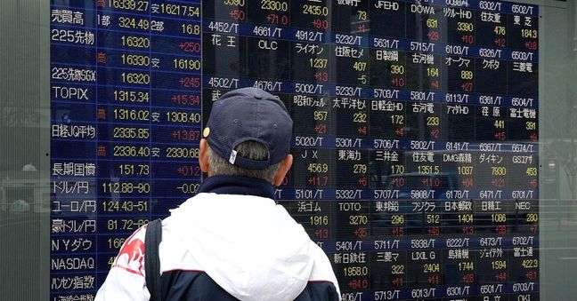 Asia stocks start fourth quarter with gains, sterling stumbles