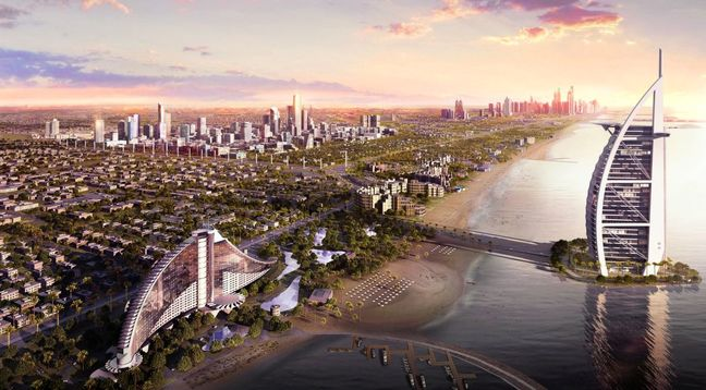 Dubai Pushes Ahead With First Phase of $20 Billion District