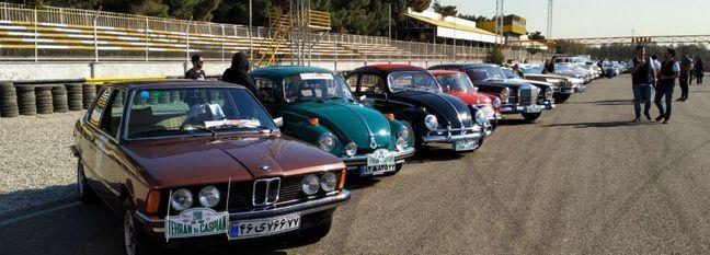 Vintage Car Rally Planned in Tehran