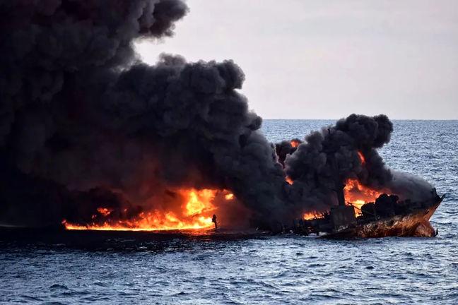 Sanchi Sinks, Crew Presumed Dead