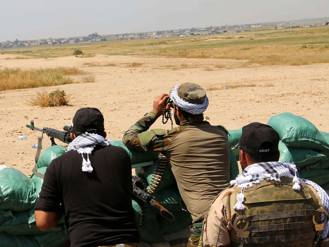 Kurdish forces in fresh push to close in on ISIS-held Mosul