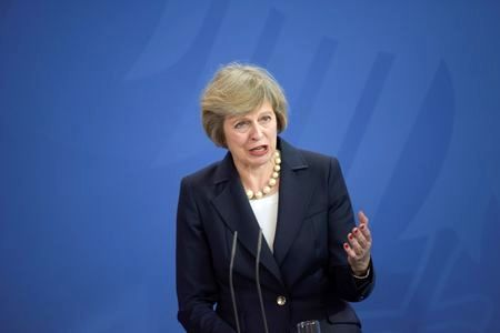 British PM May to discuss Brexit and borders in Northern Ireland