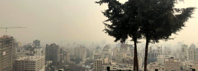 Tehran Schools Close Over Choking Smog
