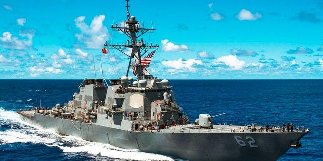 Ten Sailors Missing After U.S. Warship Crash Near Singapore