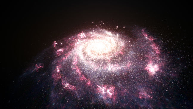 NASA Captures Image of 'Starburst' Galaxy Forming 100s of Stars Every Year