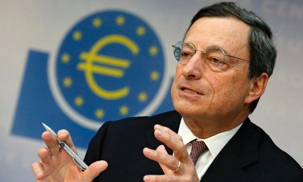 Yields rise, euro dips as ECB trims bond purchases