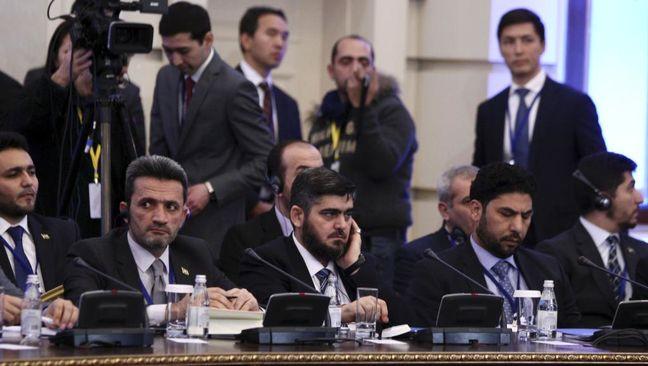 Russian-backed Syria talks derailed as rebels boycott