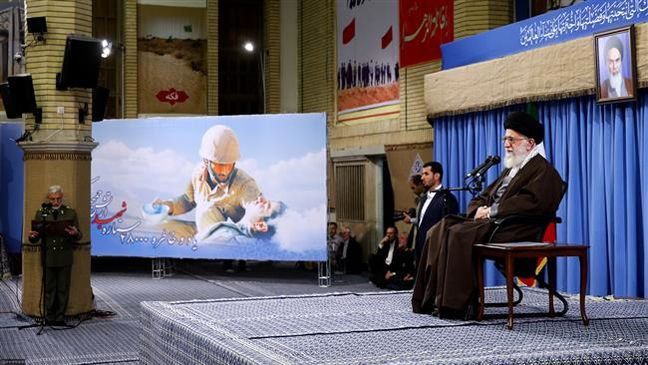 Leader warns against enemy attempts to mar Iran presidential vote