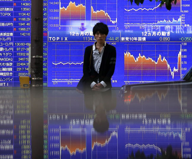 Asia Stocks Gain Even as Topix Swings, Yen Rises