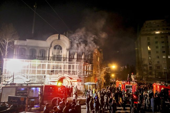 Iran court issues verdict for suspects in Saudi embassy attack