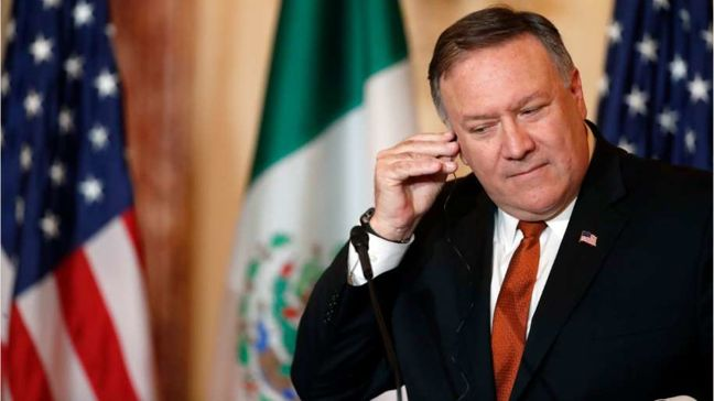 Pompeo reaches out to European counterparts amid Iran tensions