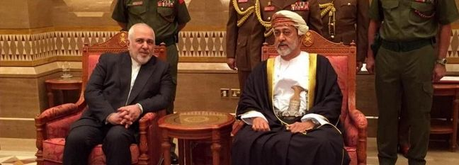 Zarif Meets Oman's New Sultan