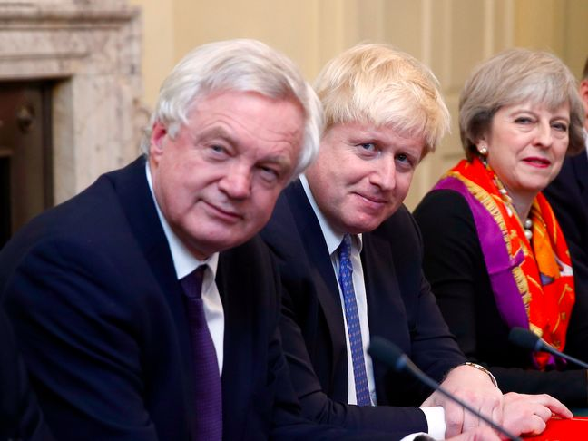 May Could Shake Up Cabinet With Boris Johnson in the Firing Line