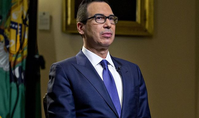 Mnuchin Labels Trump's China, Russia FX Tweets a `Warning Shot'