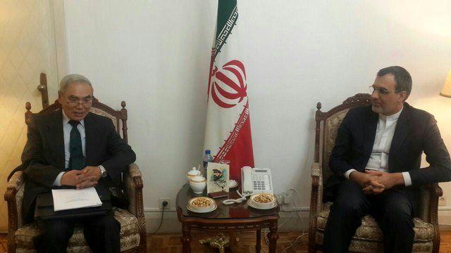 Iranian deputy FM, Chinese envoy on Syria meet in Tehran