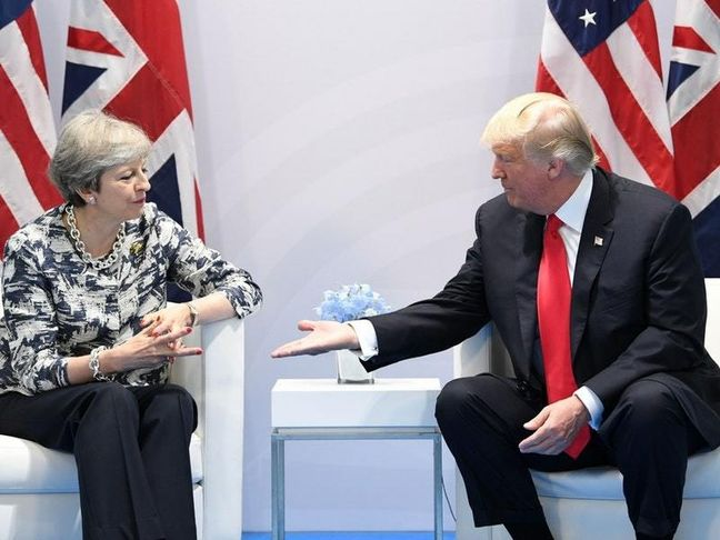 Brexit and protests cast shadow over Trump visit to Britain