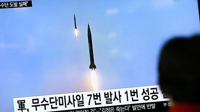 Abe, Trump Show Unity in Condemning North Korean Missile Test