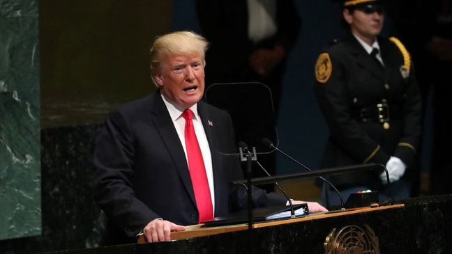 Trump, Iran's Rouhani exchange threats, insults on U.N.'s world stage