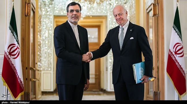 Iran backs any solution regarding by Syrian political group