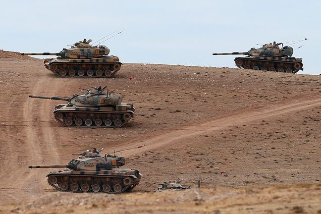 Turkish forces deepen push into Syria, draw U.S. rebuke over their target