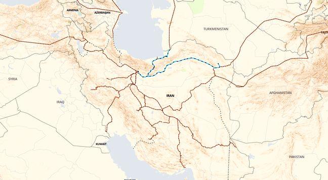 Iran Railroad Projects Endure Despite Sanctions