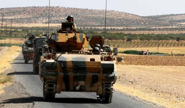 Turkey pushes west in offensive against Islamic State in Syria